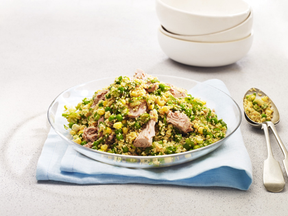 Quick tuna couscous salad
