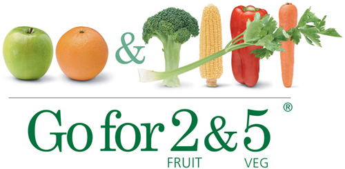 Go for 2 fruit and 5 veg logo - link to external site