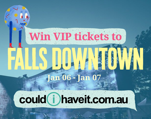 logo: Win VIP tickets to Falls Downtown